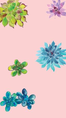 mini-succulent-climbing-phone-background