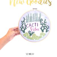 *Freebie* Embroidery Template!